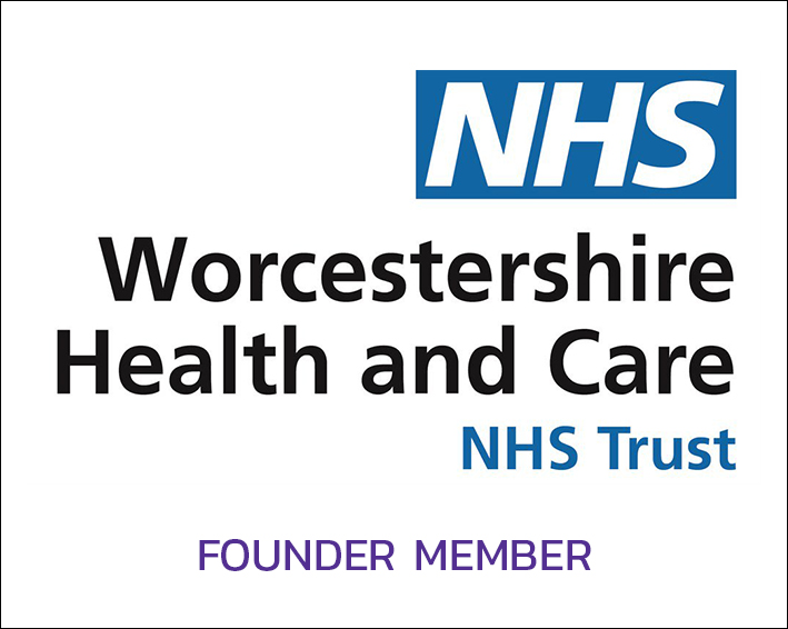 NHS Worcs logo
